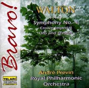Walton: Symphony No.1 album cover