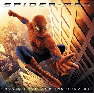 Spider-Man: Music From And Inspired By album cover
