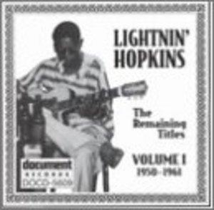 The Remaining Titles: Vol.1 1950-1961 album cover