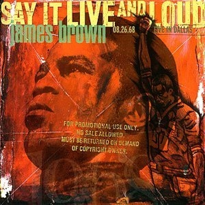Say It Live And Loud: Live In Dallas 1968 album cover