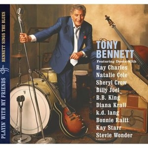Playin' With My Friends: Bennett Sings The Blues album cover