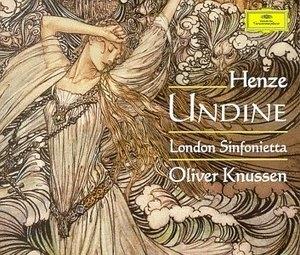 Henze: Undine album cover
