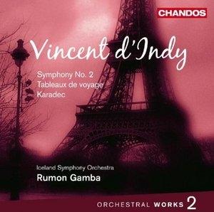 Vincent D'Indy: Orchestral Works, Vol.2 album cover