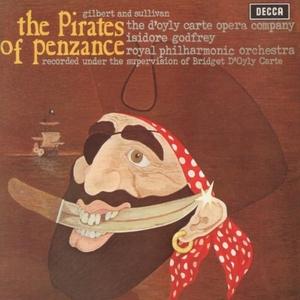 Gilbert & Sullivan: The Pirates Of Penzance album cover