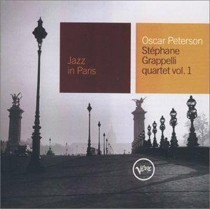 Jazz In Paris: Oscar-Peterson-Stephanie Grapelli Quartet, Vol.1 album cover