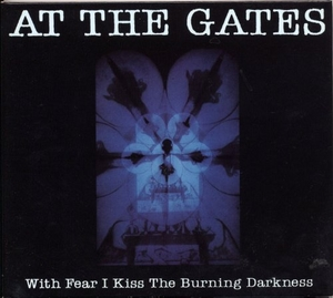 With Fear I Kiss The Burning Darkness album cover