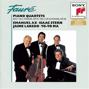 Fauré: Piano Quartets album cover