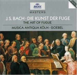 JS Bach: The Art Of Fugue album cover