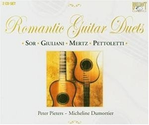 Romantic Guitar Duets album cover