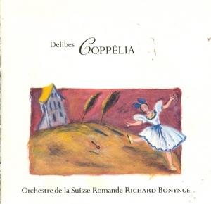 Delibes: Coppelia~ Massenet: La Carillon album cover