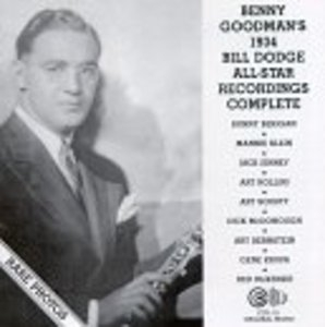 1934 Bill Dodge All-Star Recordings album cover