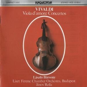 Vivaldi: Concertos For Viola D'Amore album cover