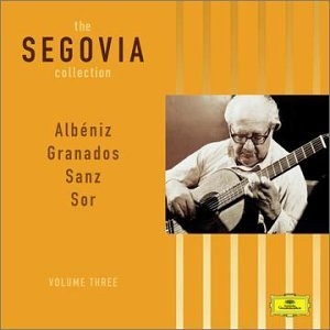 The Segovia Collection, Vol. 3: My Favorite Works album cover