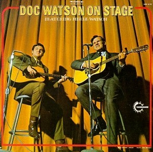 Doc Watson On Stage (Featuring Merle Watson) album cover