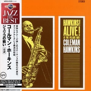 Hawkins! Alive! At The Village Gate album cover