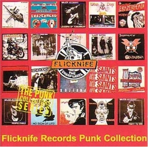 Flicknife Records Punk Collection album cover