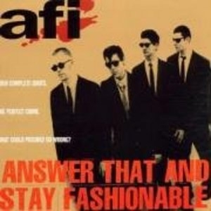 Answer That And Stay Fashionable album cover