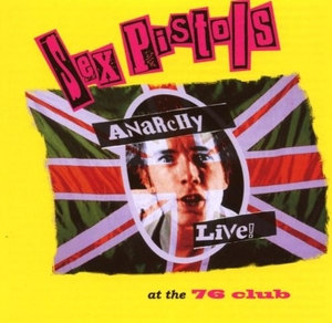 Anarchy Live At The '76 Club album cover