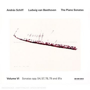 Beethoven: The Piano Sonatas, Vol.6 album cover