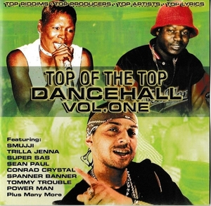 Top Of The Top Dancehall, Vol. 1 album cover