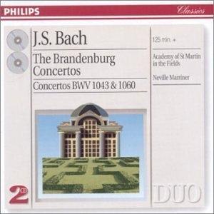 Brandenburg Concertos: Concertos BWV 1043 & 1060 album cover