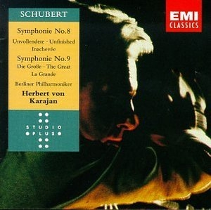 Schubert: Symphonies Nos.8 & 9 album cover