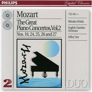 Mozart: The Great Piano Concertos, Vol.2 album cover