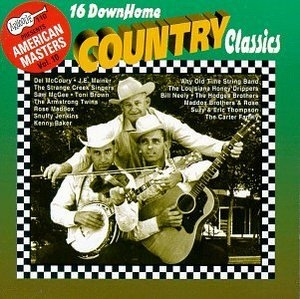 America's Masters Vol.10: 16 Down Home Country Classics album cover