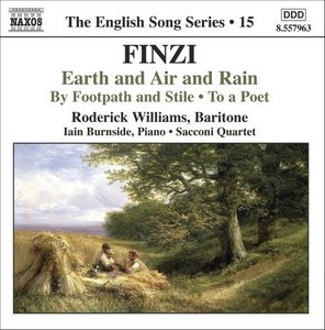 Finzi: Earth And Air And Rain, By Footpath And Stile, To A Poet album cover