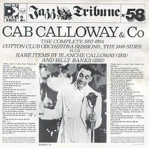 Cab Calloway And Co album cover
