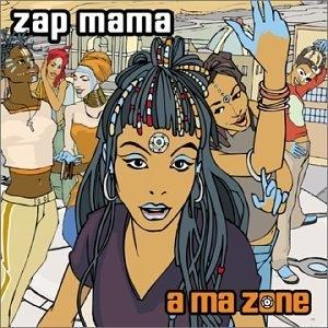 A Ma Zone album cover