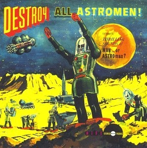 Destroy All Astromen! (Live) album cover