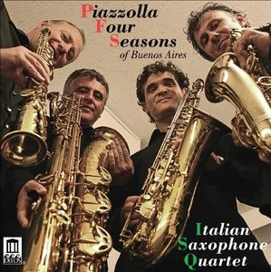 Piazzolla Four Seasons album cover