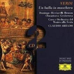 Verdi: Un Ballo In Maschera album cover