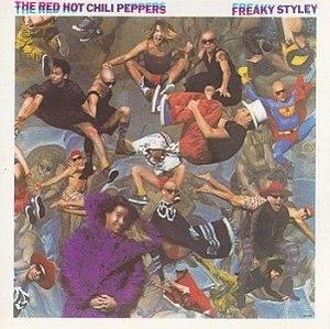 Freaky Styley album cover
