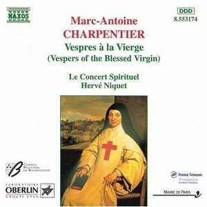 Charpentier: Vespers Of The Blessed Virgin album cover