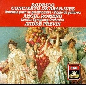 Rodrigo: Concierto De Aranjuez, Fantasia album cover