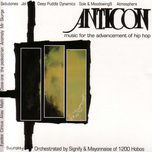 Anticon Presents Music For The Advancement Of Hip Hop album cover