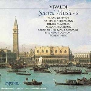 Vivaldi: Sacred Music, Vol.6 album cover
