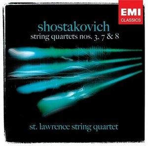 Shostakovich: String Quartets Nos.3, 7 & 8 album cover