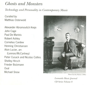 Ghosts And Monsters: Technology And Personality In Contemporary Music album cover