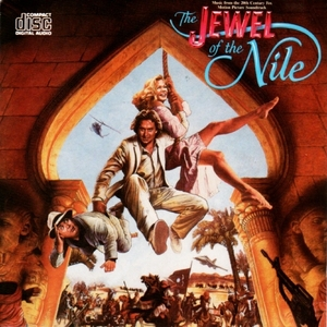 The Jewel Of The Nile (Motion Picture Soundtrack) album cover