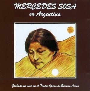 Mercedes Sosa En Argentina album cover