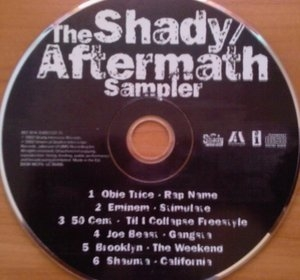The Shady Aftermath Sampler album cover