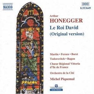 Honegger: Le Roi David album cover