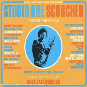 Studio One Scorcher album cover