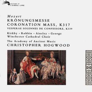 Mozart: Coronation Mass album cover