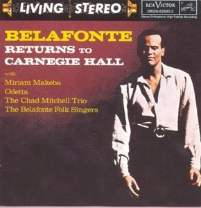 Belafonte Returns To Carnegie Hall album cover