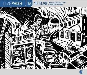 Live Phish Vol.16 album cover