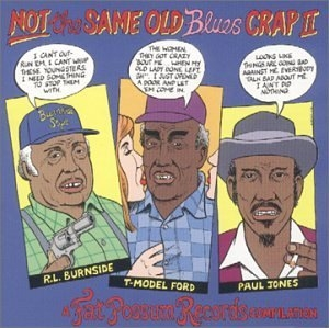 Fat Possum Records-Not The Same Old Blues Crap II album cover